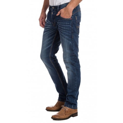 TimeZone Jeans Taylor- Astral Blue Wash