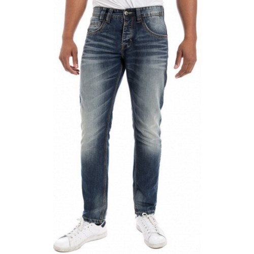TimeZone Jeans Gerrit-Blue shadow