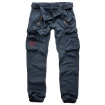 Traveler Slim Reisitaskuhousut-Navy blue
