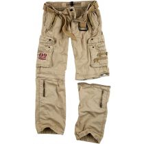 Traveler Zip off pants-Beige