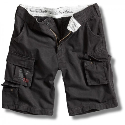 Trooper reisitaskushortsit-Black