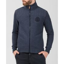 TZ sweat jacket 10075-Bluegrey