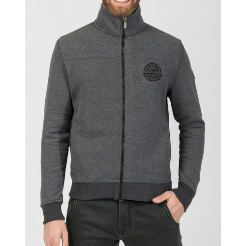 TZ sweat jacket 10075-Grey