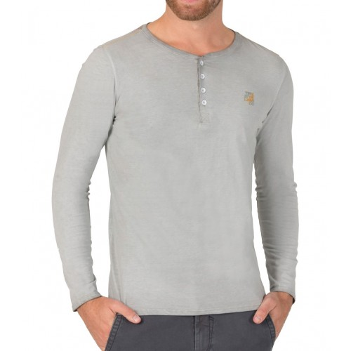 TZ longsleeve 10065 -Washed grey
