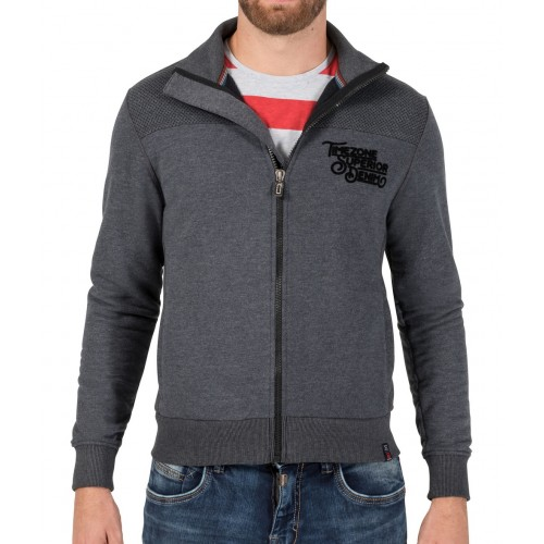 TZ sweat jacket 10064-Grey