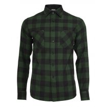 Urban checkshirt-black/green