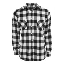 Urban checkshirt-black/white