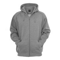 Urban zip Hoody 014-Light  grey