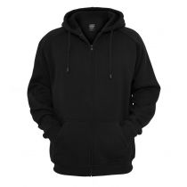 Urban zip Hoody 014-Black