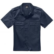 US-Shirt shortsleeve-Navy