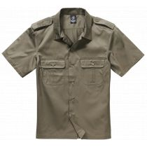 US-Shirt shortsleeve-Olive