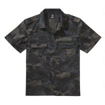 US-Shirt shortsleeve-Blackcamo