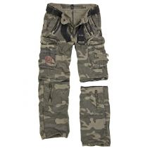 Traveler Zip off pants-Blackcamo