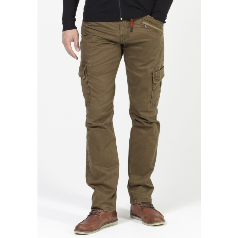 Timezone Pants regular Ben -Brown