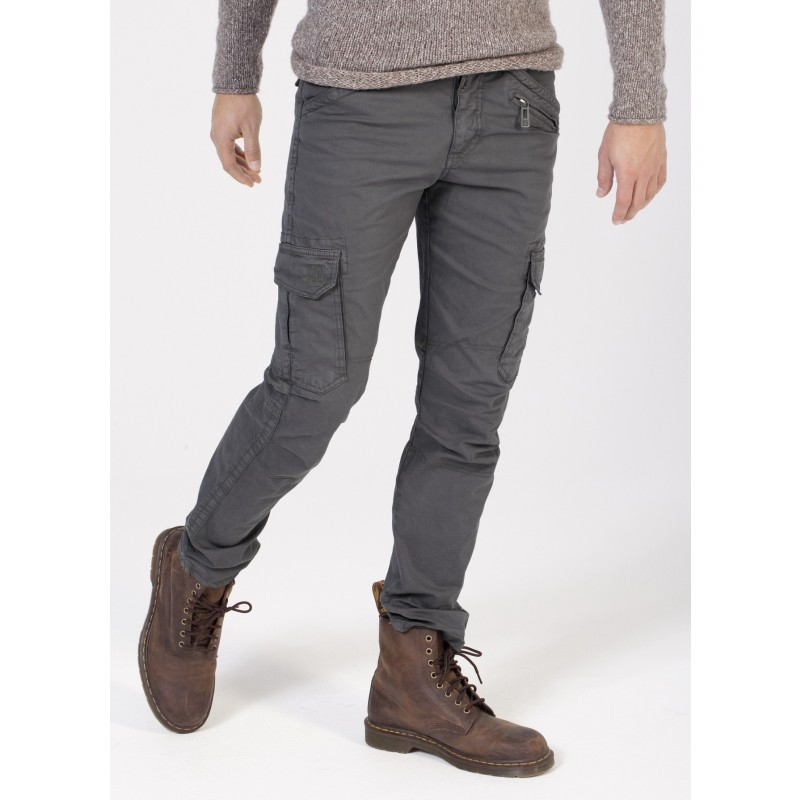 Timezone Pants Ben Slim-Dark grey