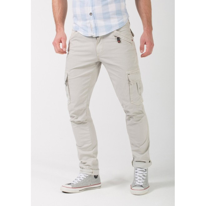 Timezone Pants regular Ben-Natural white