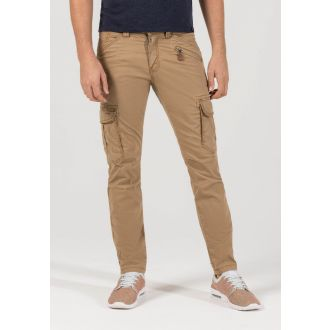 TZ stretch pants Ben-Washed beige