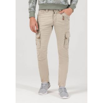 TZ stretch pants Ben-Washed sand