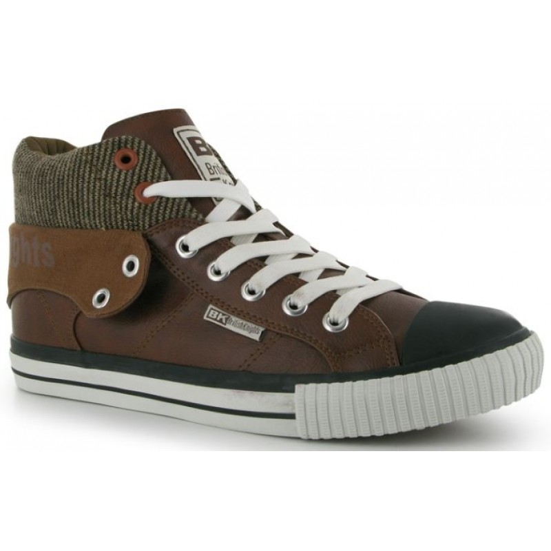 British Knights Skate Shoes-Chestnut/Black