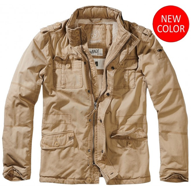 Britannia winter jacket-Beige