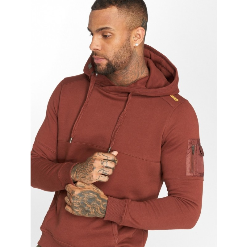 DNGRS  Hoody 282-Brown