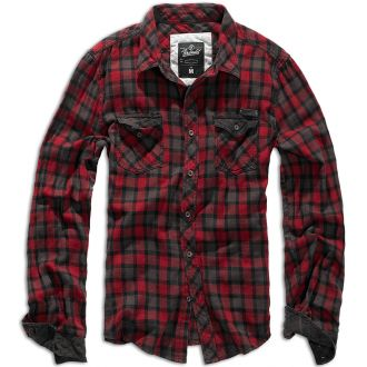 Duncan Checkshirt-Red/Brown