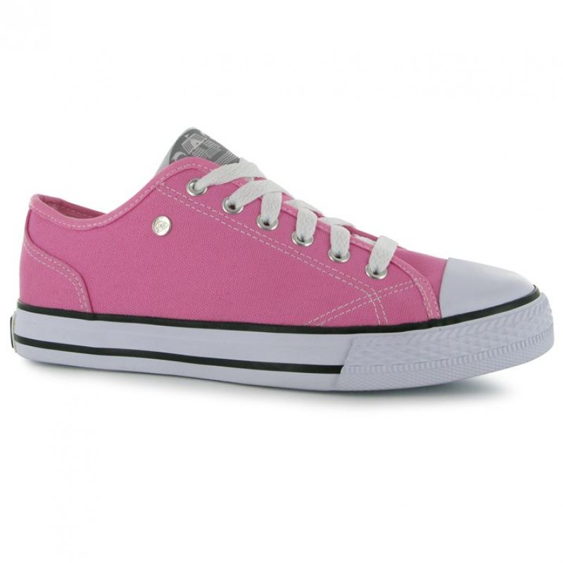 Dunlop-Canvas Low Ladies Pink