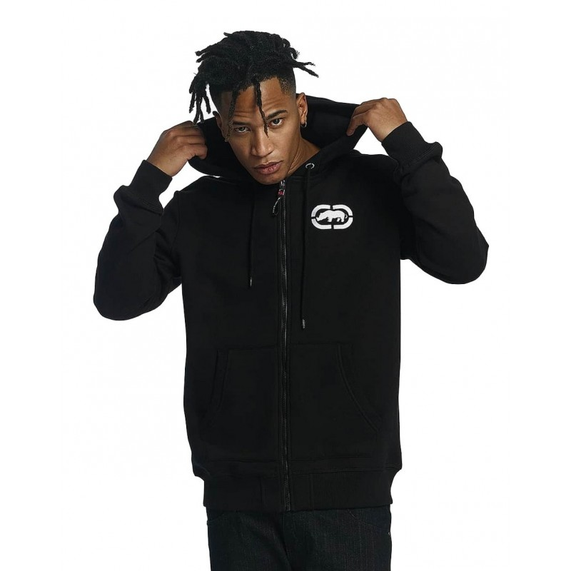 Ecko zip Hoody 1017-Black