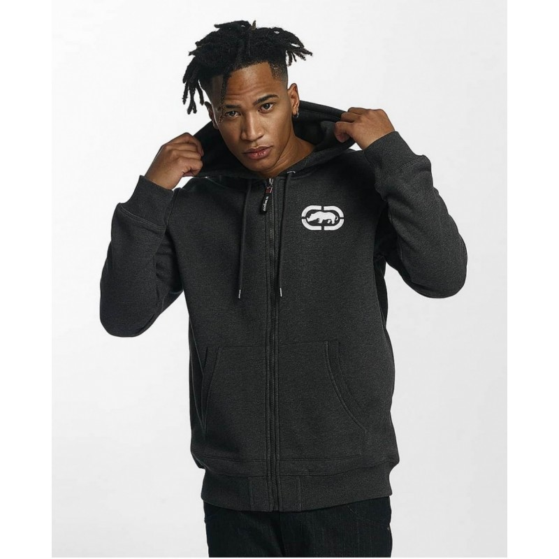 Ecko zip Hoody 1017-Dark grey