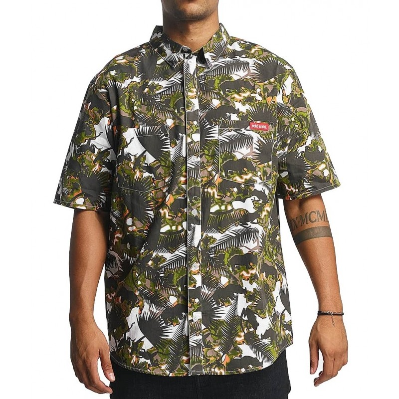 Ecko shortsleeve print shirt 1002 Black