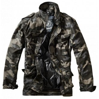 M65 Field jacket-Blackcamo