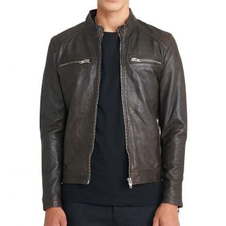 Leather jacket Harvey-Brown