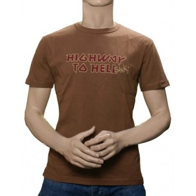 Highway to Hellsinki T-Shirt - Brown
