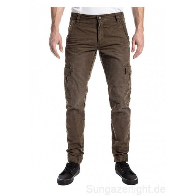 Timezone Pants regular Hunter-Dark Earth