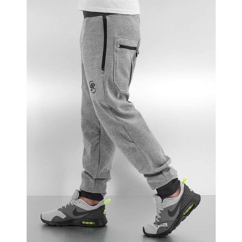 Just Rhyse Lenny Sweatpants-Grey