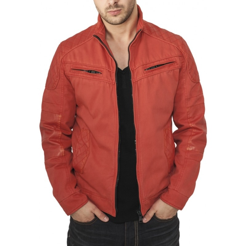 Urban Classics Racer Jacket Red