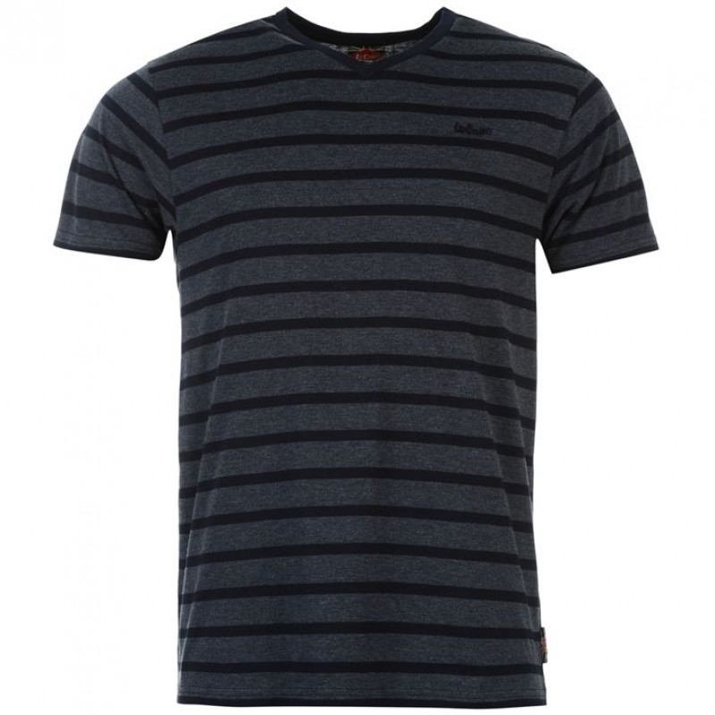 Lee Cooper T-shirt-Grey/Black