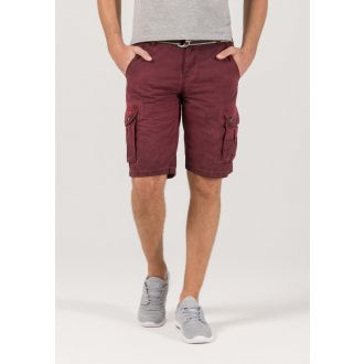 Timezone Maguire shortsit-Wine red