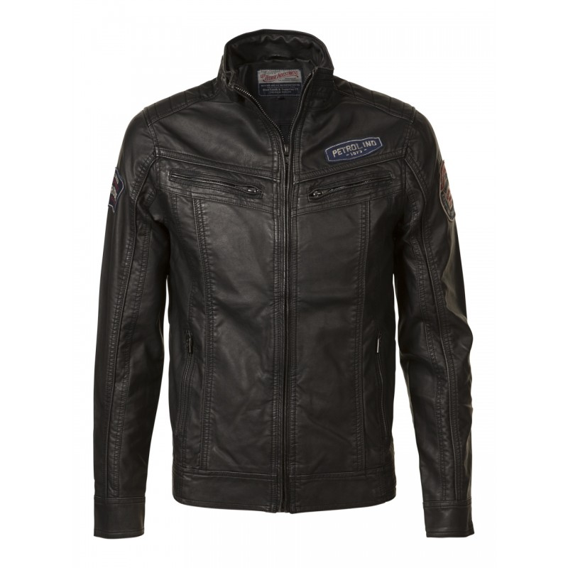 Petrol Jacket 141-Black