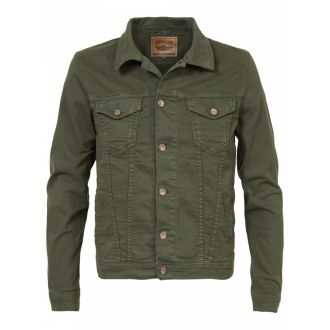 Petrol denim jacket 134-olive