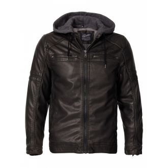 Petrol hoodJacket 105-Black
