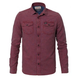 Petrol shirt 402-Burgundy