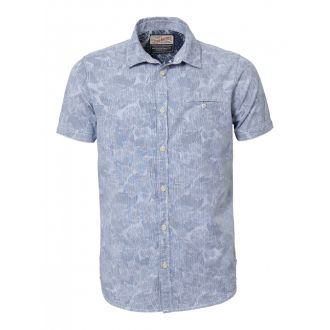 Petrol shortsleeve shirt 429-Seascape