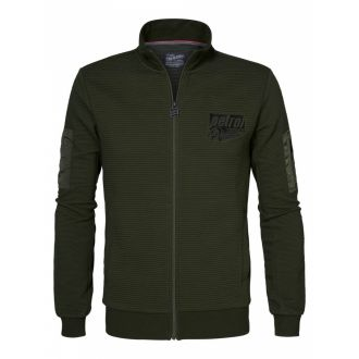 Petrol Sweat zip jacket 320-Olive