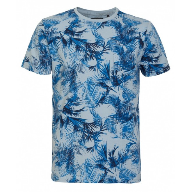 Petrol T-shirt 19-721-Blue