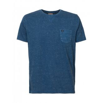 Petrol T-shirt 669-Blue