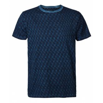 Petrol T-shirt 634-Blue