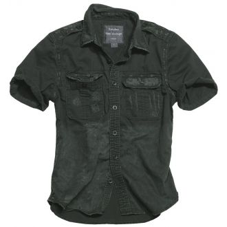 Raw Vintage Shirt shortsleeve -Black