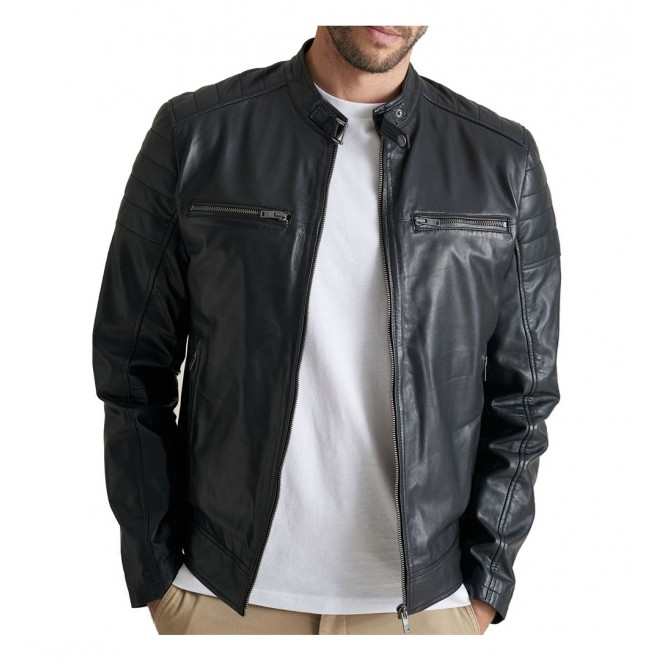 Saki Leather jacket-Lewis