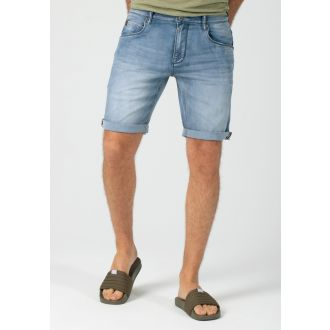 Timezone Scotty denim shortsit-Antique blue